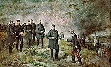 Nach der Schlacht bei Sedan, Gemälde von Carl Steffeck, 1884 (Quelle: Wikimedia)