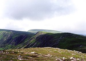Carn a' Gheoidh from the top of Butcharts corrie.jpg