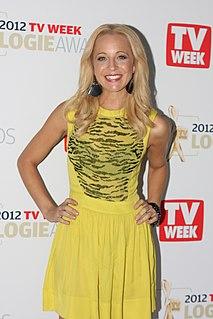Carrie Bickmore Australian journalist, radio presenter and television presenter