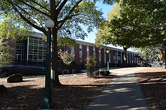 University of Mississippi School of Engineering - Image: Carrier Hall University of Mississippi