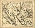 Carte de la Californie - suivant I. la Carte manuscrite de l'Amérique de Mathieu Néron Pecci olen dresses à Florence en 1604, II. Sanson 1656, III. De l'Isle Amérique Sept. 1700, IV. le Pere Kino LOC 2006627665.jpg