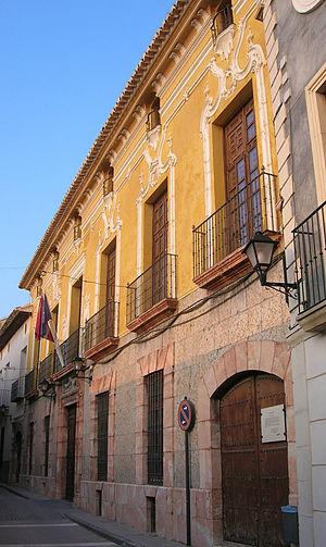 Cehegín - Image: Casa Jaspe Ayuntamiento Cehegin Murcia