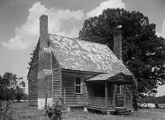 Cascine (Louisburg, North Carolina) - Cascine early house, HABS Photo, June 1940