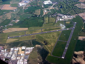 Casement Aerodrome - Image: Casement Aerodrome, Baldonnel aerial