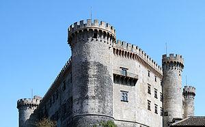 Castello Orsini-Odescalchi - Image: Castel Orsini Odescalchi (Bracciano)