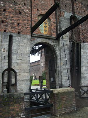 Sforza Castle - One of the four castle entrances