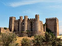 Castelo de Óbidos - actual pousada.JPG