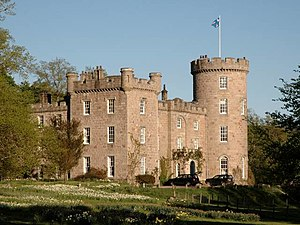 Clan Forbes - Castle Forbes, the current seat of the chief of Clan Forbes