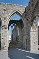 Castledermot Friary North Transept Side Chapel 2013 09 06.jpg
