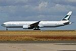 Cathay Pacific, B-KPA, Boeing 777-367 ER (30333788267).jpg