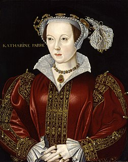 Catherine Parr Queen Consort of Henry VIII