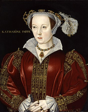 Catherine Parr (1512-1548), last and sixth wif...