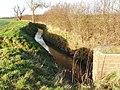Catterton Beck from Catterton lane - geograph.org.uk - 320735.jpg