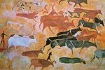 Cave painting from the Tassili n'Ajjer mountains.jpg