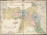 الإيالات الشرقيَّة لِلدولة العُثمانيَّة سنة 1803م