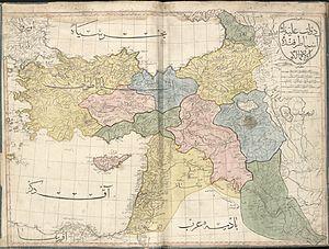 Cedid Atlas (Middle East) 1803