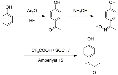Celanese synthesis of paracetamol.png