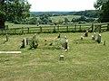 Cemetery, St Leonards, Whitsbury - geograph.org.uk - 187155.jpg