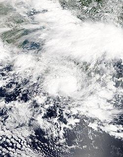 Cyclone Cempaka Category 1 Australian region cyclone in 2017