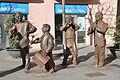 "Centelles. Monument to the ""baliga balaga"" music band (detail). 2006. Joaquim Camps, sculptor (16858885206).jpg"