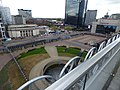 Centenary Square behind barriers (34371687776).jpg