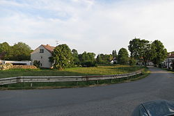 Center of Radotice, Třebíč District.JPG