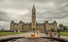 Centre Block and Centennial Flame (14766251442).jpg