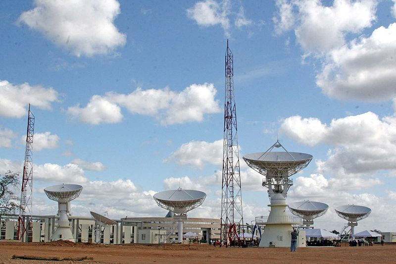 (ABAE)Agencia Bolivariana para Actividades Espaciales. 800px-Centro_Espacial_Venezolano