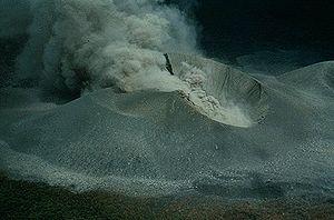 Cerro Negro - Eruption of Cerro Negro in 1948
