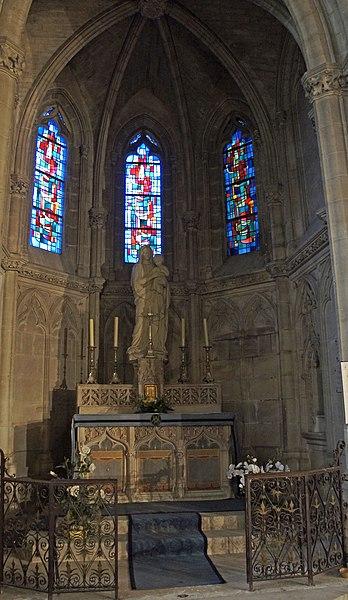 Une Chapelle du coeur de l'église.