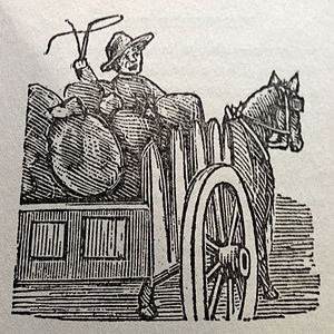 Lafcadio Hearn - Char-Coal: Cartoon published in New Orleans Daily Item on 25 August 1880.