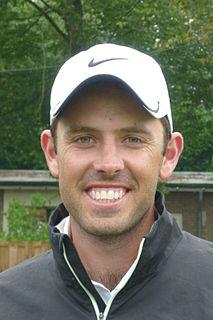 Charl Schwartzel South African professional golfer (born 1984)