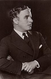 Sir Charles Spencer Chaplin, en 1920