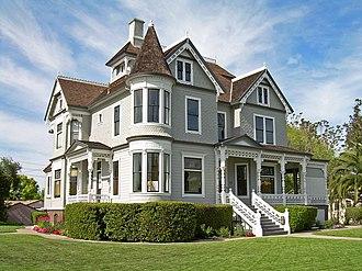 California Historical Landmarks in Santa Clara County, California - Image: Charles Copeland Morse Mansion