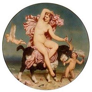 Aphrodite Pandemos - Venus Pandemos (Charles Gleyre, 1854)