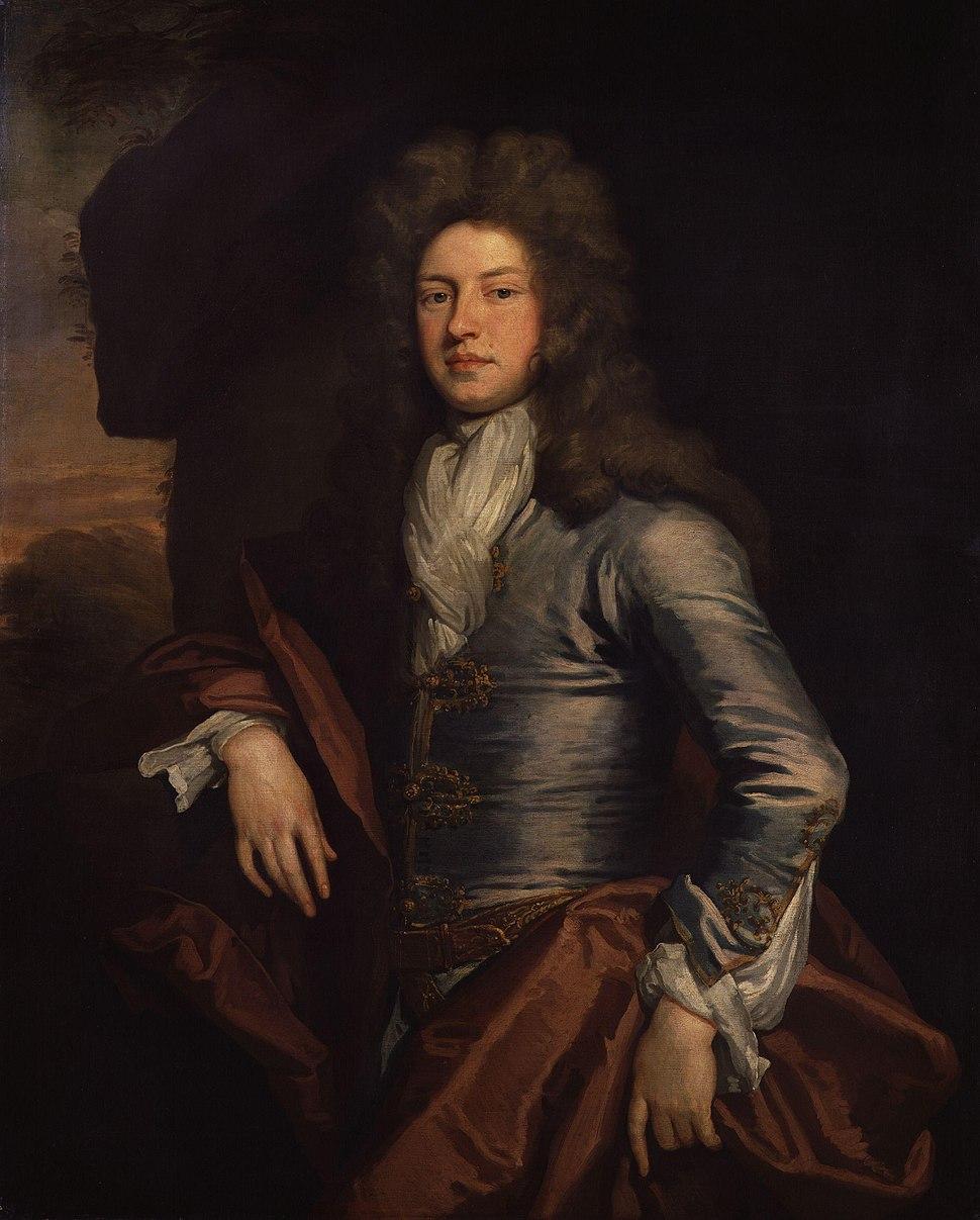 Charles Montagu, 1st Earl of Halifax by Sir Godfrey Kneller, Bt
