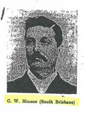 Charles Midson - Image: Charles William Midson Queensland Politician