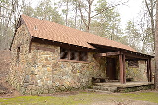 Charlton Recreation Area campground and recreation site in Ouachita National Forest, Arkansas, USA