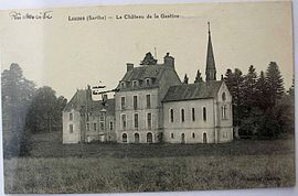 The chateau of La Gastine in 1920