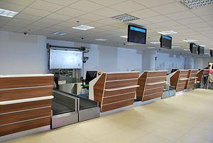Łódź Władysław Reymont Airport - Check-in desks