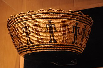 Confederated Tribes of the Chehalis Reservation - Image: Chehalis basket 01