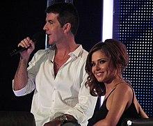 Cheryl e Simon Cowell, ideatore di X Factor