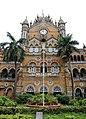 Chhatrapati shivaji terminus, esterno 04.jpg