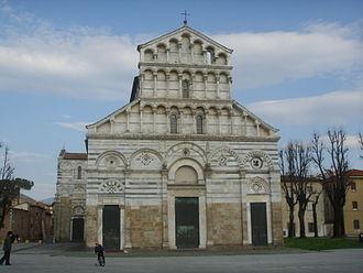 San Paolo a Ripa d'Arno - Façade.