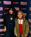 "Child actor River Mason Eromosele and his mother TV personality Pilar Scratch Interview with Iheart radio ""Lunch with the Brunch"" in Chicago.jpg"