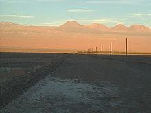 Atacama road.