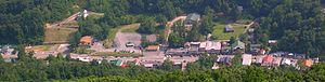 Chimney Rock, North Carolina - The village of Chimney Rock