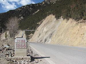 China National Highway 214 - Deqin, Yunnan