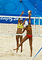 China vs. Austria in Beach Volleyball - Summer Olympics Beijing 2008 2.jpg