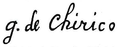 Chirico autograph.png